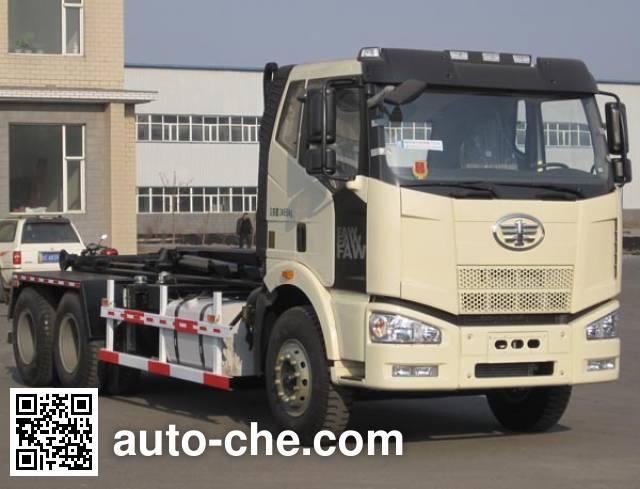Jiezhijie HD5250ZXXE detachable body garbage truck