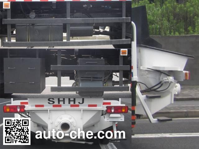 Huajian HDJ5120THBDF бетононасос на базе грузового автомобиля