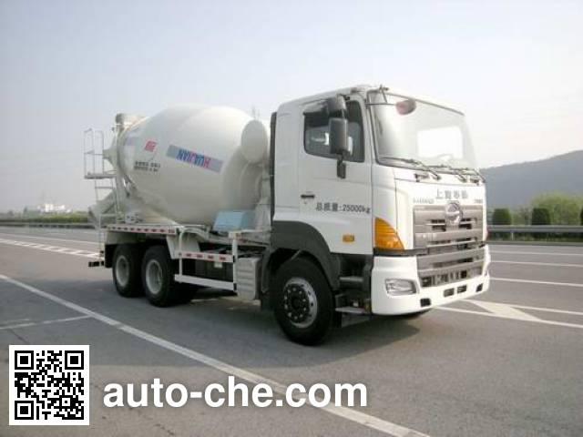华建牌HDJ5250GJBGH混凝土搅拌运输车