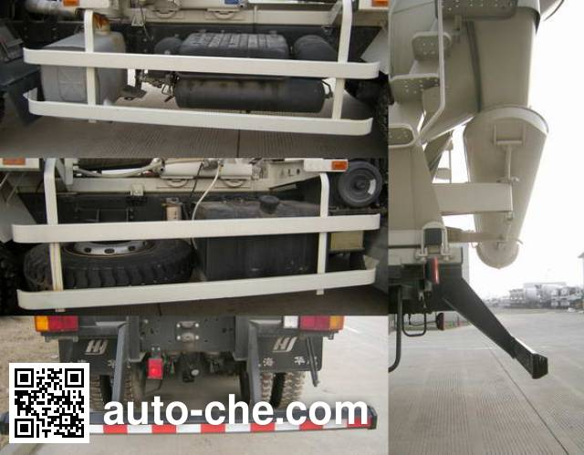 华建牌HDJ5251GJBAU混凝土搅拌运输车