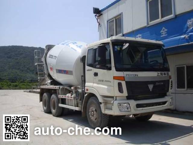 华建牌HDJ5255GJBAU混凝土搅拌运输车