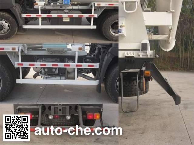 华建牌HDJ5256GJBHI混凝土搅拌运输车