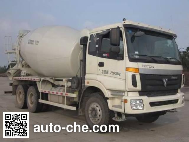 华建牌HDJ5257GJBAU混凝土搅拌运输车