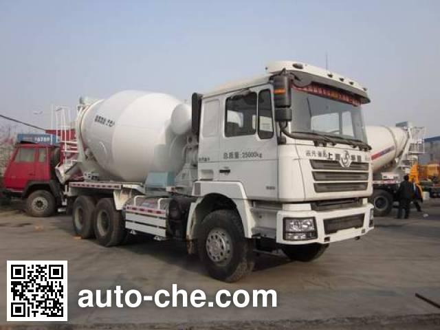 华建牌HDJ5257GJBSX混凝土搅拌运输车