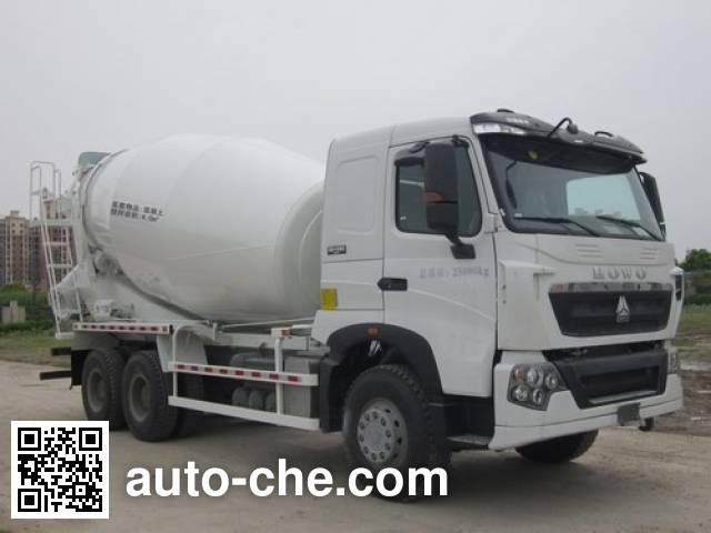华建牌HDJ5258GJBHO混凝土搅拌运输车