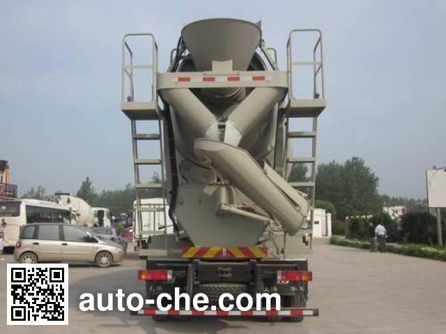 华建牌HDJ5314GJBSX混凝土搅拌运输车