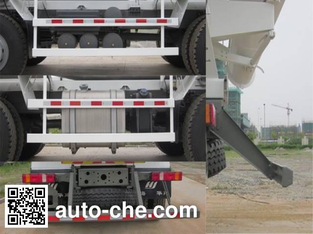 华建牌HDJ5315GJBHO混凝土搅拌运输车