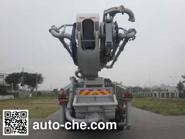 华建牌HDJ5410THBIS混凝土泵车