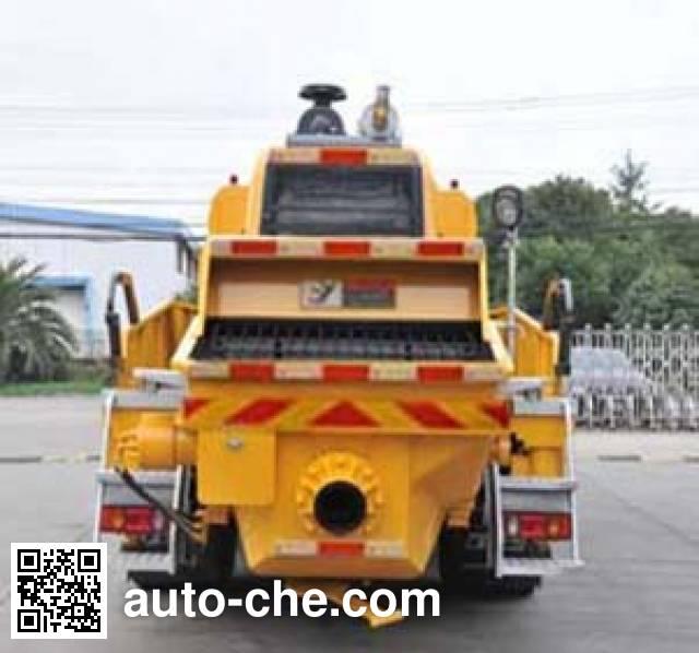 城市猎豹牌HDL5120THB车载式混凝土泵车