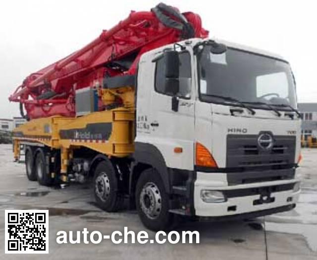 城市猎豹牌HDL5410THB混凝土泵车