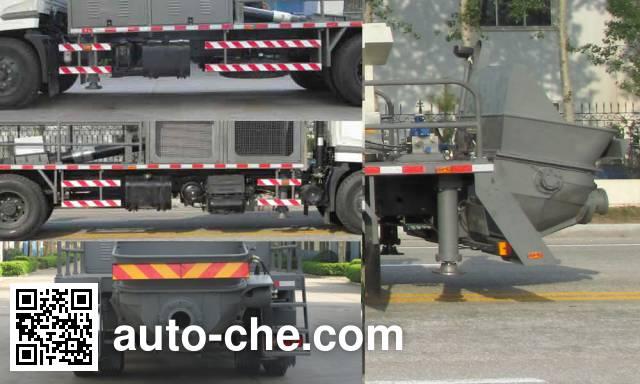 Tielishi HDT5121THB truck mounted concrete pump