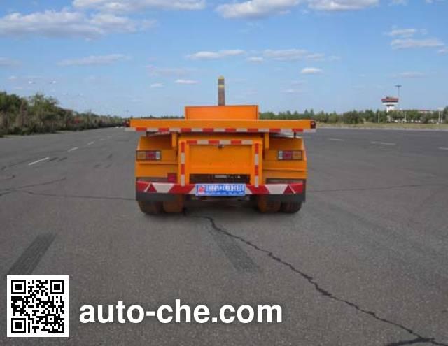 恩信事业牌HEX9350ZZXP平板自卸半挂车