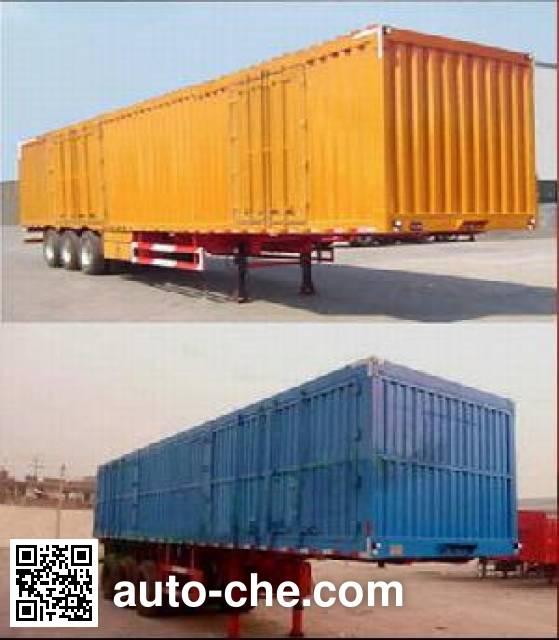 Enxin Shiye HEX9391XXY box body van trailer