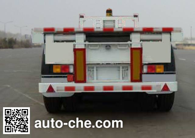 恩信事业牌HEX9400ZZXP平板自卸半挂车