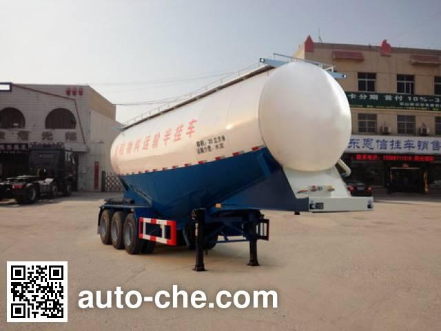 恩信事业牌HEX9401GFLB中密度粉粒物料运输半挂车