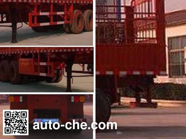 恩信事业牌HEX9402CCY仓栅式运输半挂车