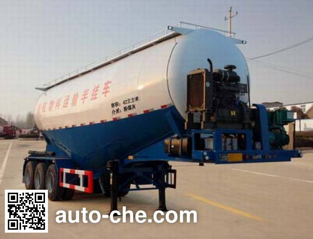Enxin Shiye HEX9402GFLB medium density bulk powder transport trailer