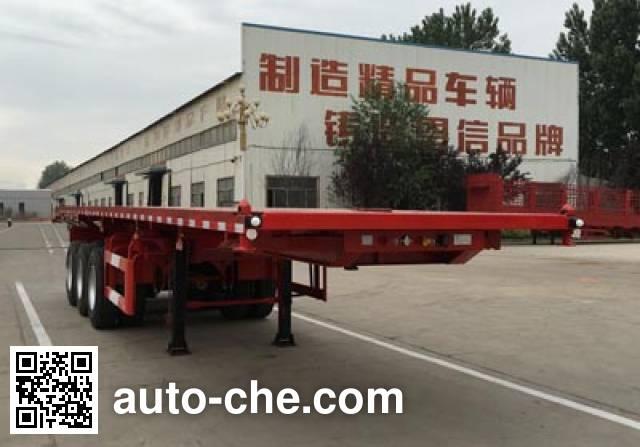 Enxin Shiye HEX9402ZZXP flatbed dump trailer