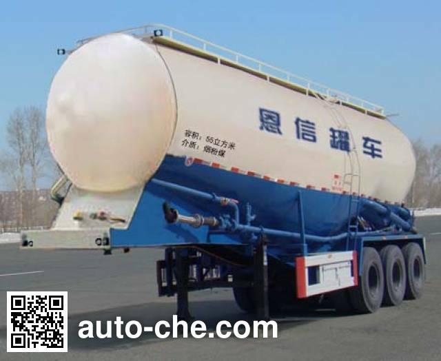 恩信事业牌HEX9405GFLA低密度粉粒物料运输半挂车