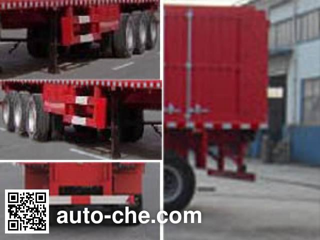 恩信事业牌HEX9407XXY厢式运输半挂车