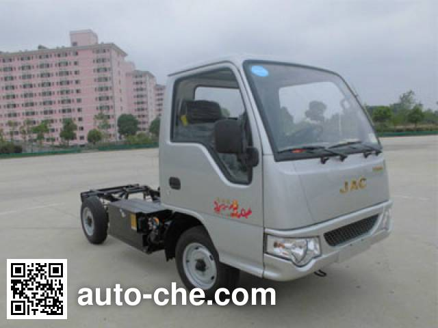 JAC HFC1020PW4EV2B1D electric truck chassis