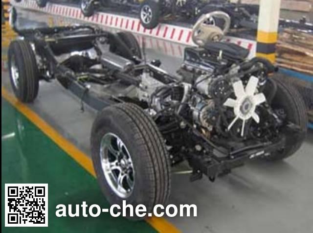 JAC HFC1027K3FA pickup truck chassis