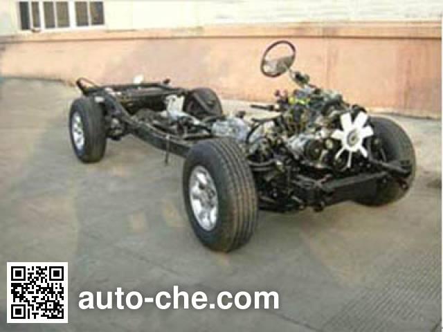 JAC HFC1027K4RFL pickup truck chassis