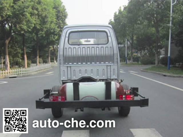 JAC HFC1020RW6T1B7DV dual-fuel truck chassis