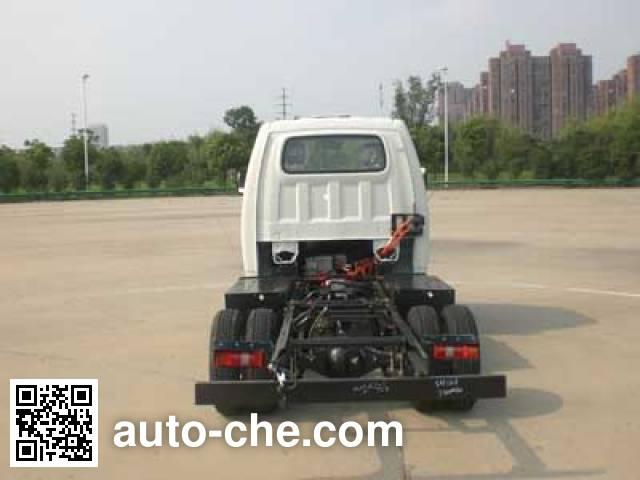 JAC HFC1031PV4EV3B3 electric truck chassis
