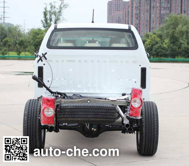 JAC HFC1037D1K3F pickup truck chassis
