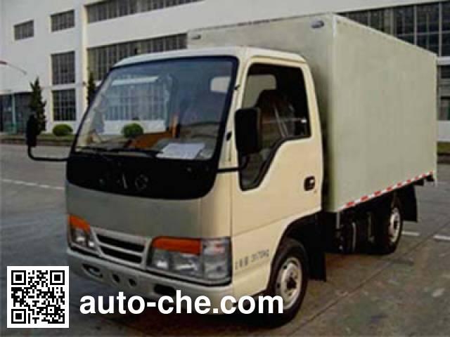 JAC Wuye HFC2810X1 low-speed cargo van truck