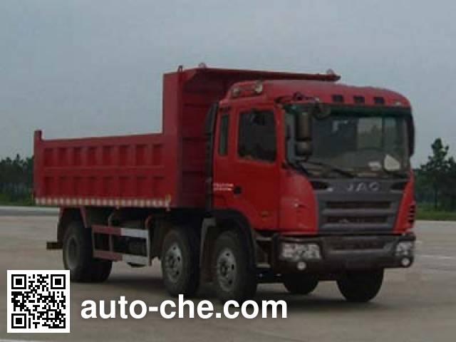 江淮牌HFC3201P3K1C34F自卸汽车