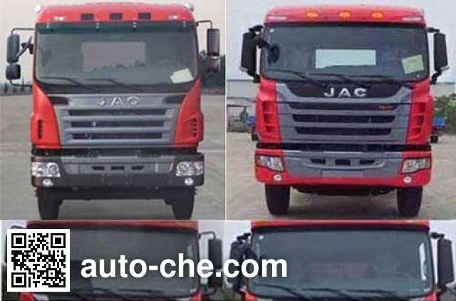 JAC HFC3311P1K6H28F dump truck