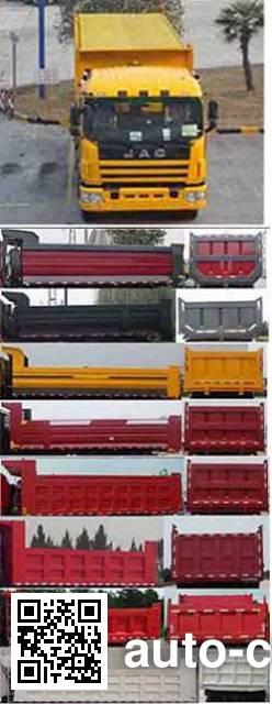 JAC HFC3311P1K6H35F dump truck