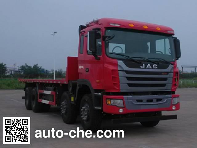 JAC HFC3311P1K6H41S3V flatbed dump truck
