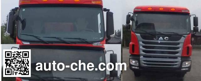 江淮牌HFC3311P1K4H38S3V自卸汽车