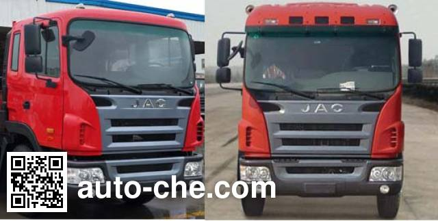 JAC HFC3311P3K3H30F dump truck
