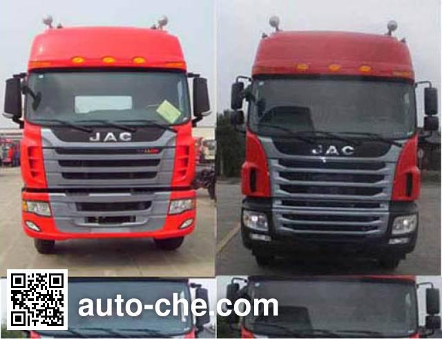 JAC HFC4251P1K7E33QXF container transport tractor unit