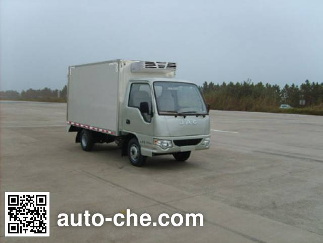 JAC HFC5020XLCPW4E1B1D refrigerated truck