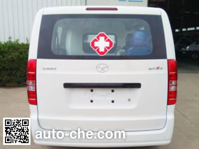 江淮牌HFC5026XJHRA3V救护车