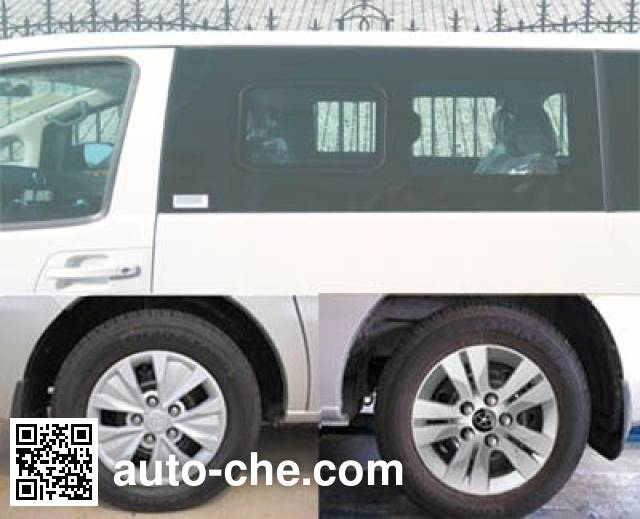 JAC HFC5026XQCRA1V prisoner transport vehicle