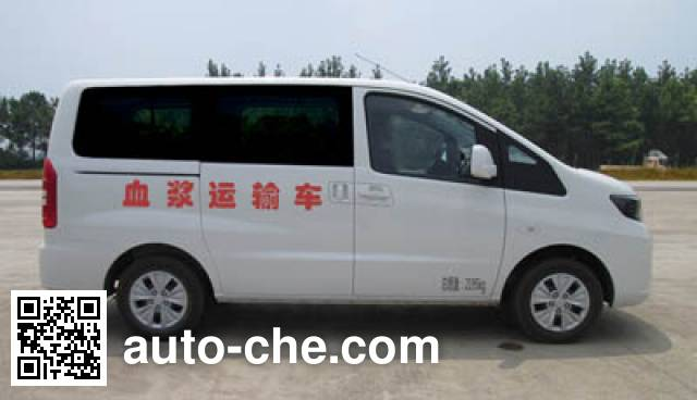 JAC HFC5026XXJRA1V blood plasma transport medical car