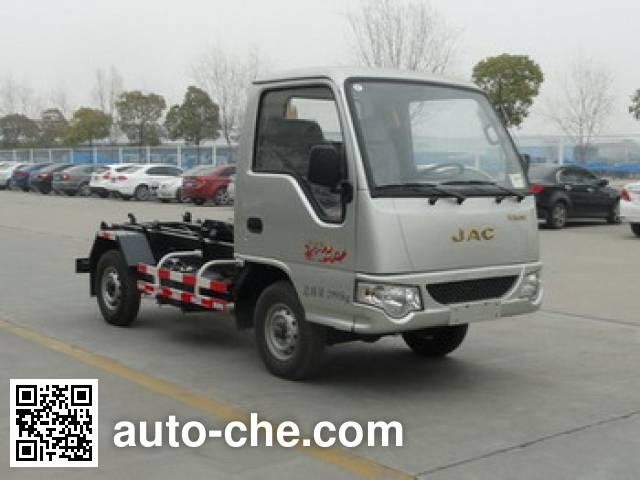 JAC HFC5030ZXXVZ detachable body garbage truck
