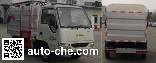 JAC HFC5030ZZZVZ self-loading garbage truck