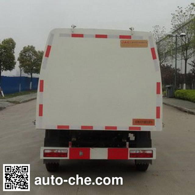 JAC HFC5031ZDJVZ docking garbage compactor truck