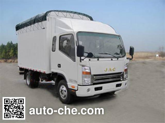 JAC HFC5034CPYL1K1T soft top box van truck