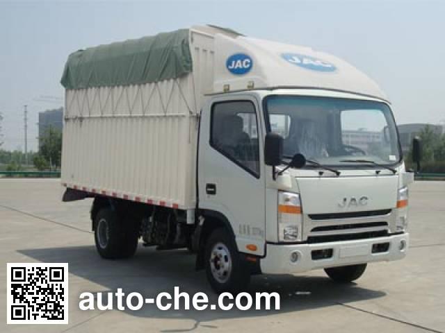 JAC HFC5034CPYP71K1C2 soft top box van truck