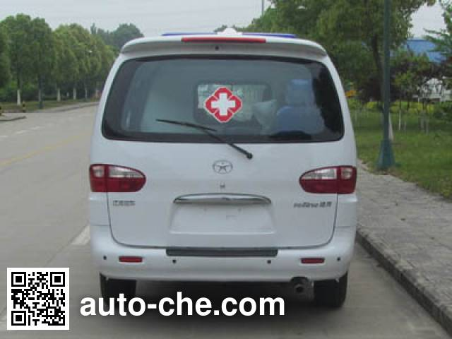 江淮牌HFC5036XJHLA3V救护车