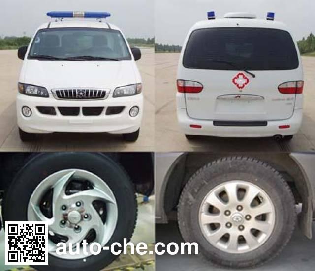 江淮牌HFC5036XJHLF救护车