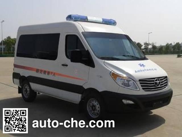 江淮牌HFC5037XJHK1MDF救护车